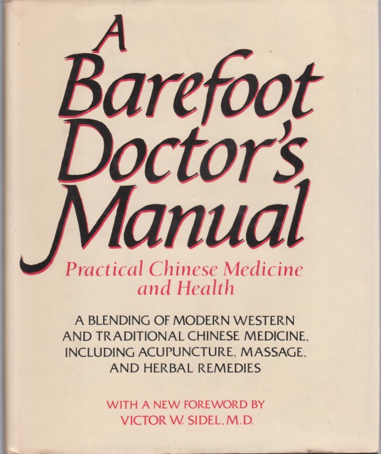 cover image of A Barefoot Doctor's Manual, for sale in New Zealand