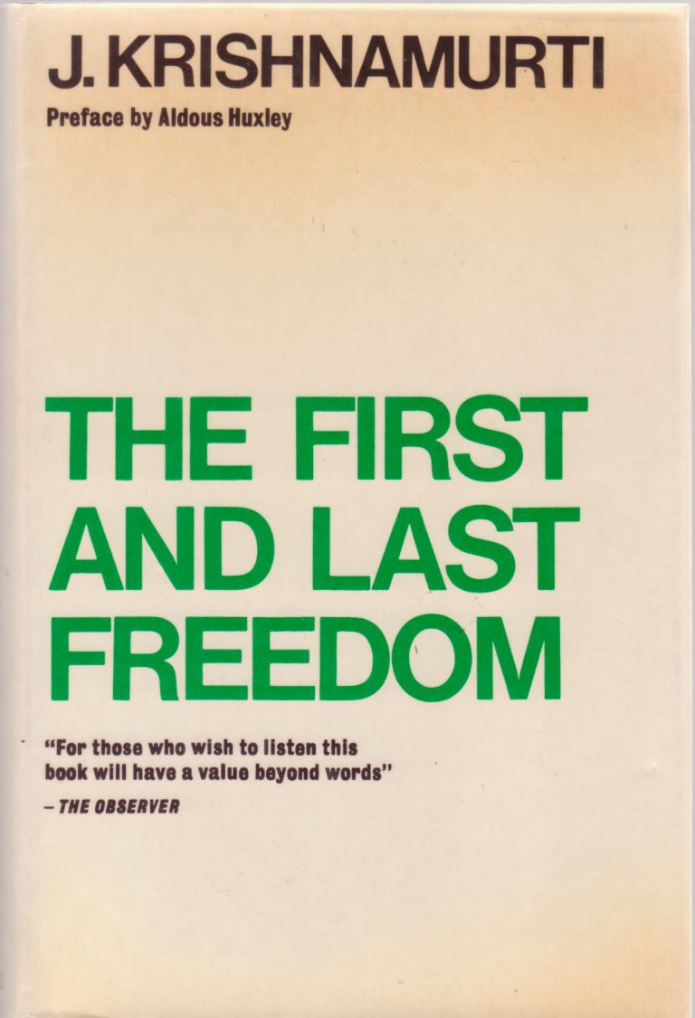 cover image of The First and Last Freedom for sale in New Zealand