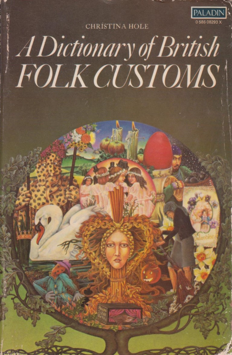 cover image of A Dictionary of British Folk Customs, for sale in New Zealand