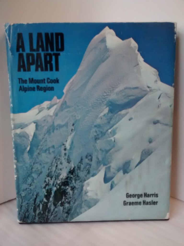 cover image of A Land Apart, the Mount Cook Alpine Region for sale in New Zealand