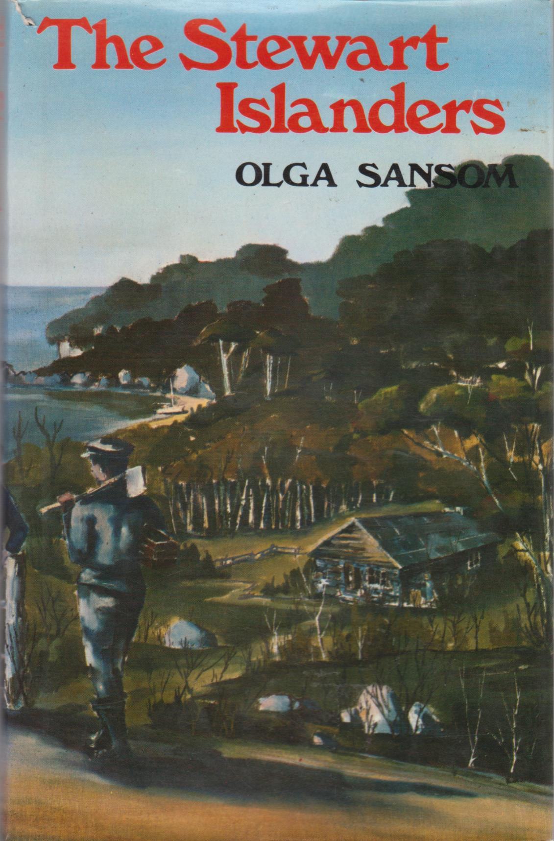 cover image of The Stewart Islanders by Olga Sansom for sale in New Zealand