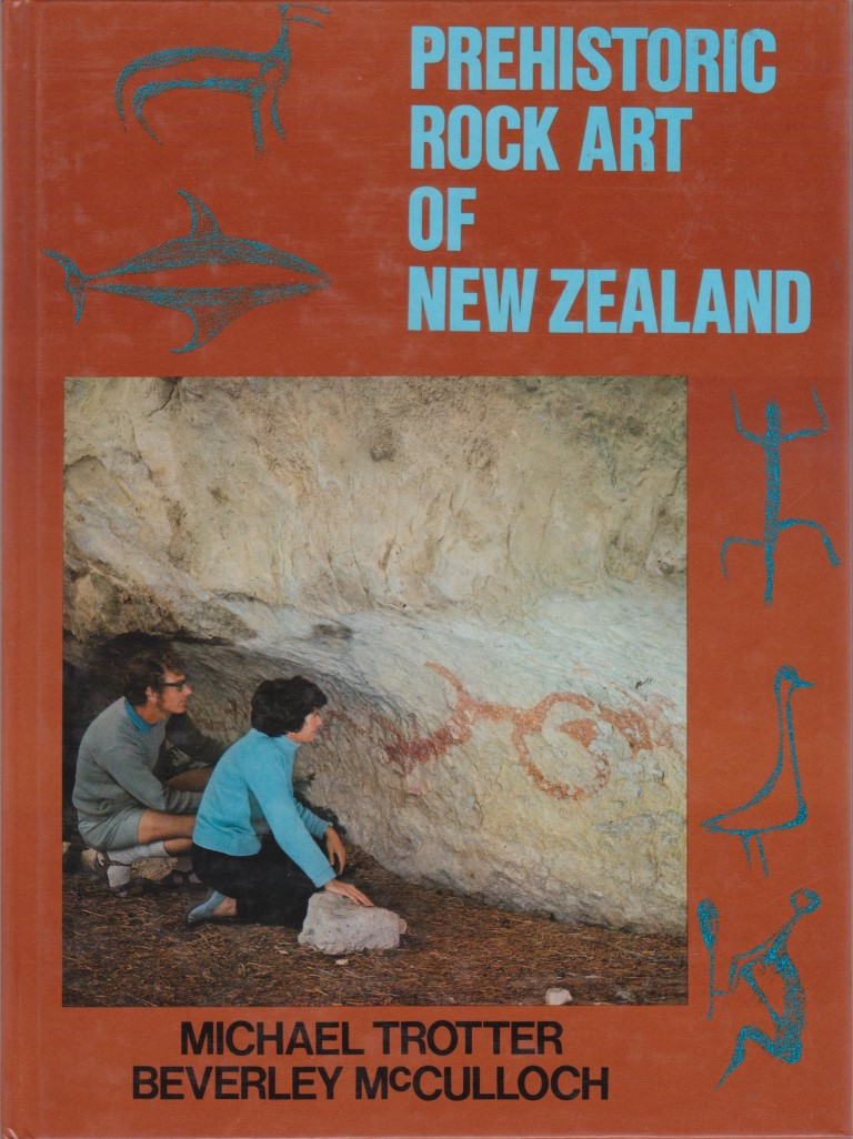 cover image of Prehistoric Rock Art of New Zealand for sale in New Zealand