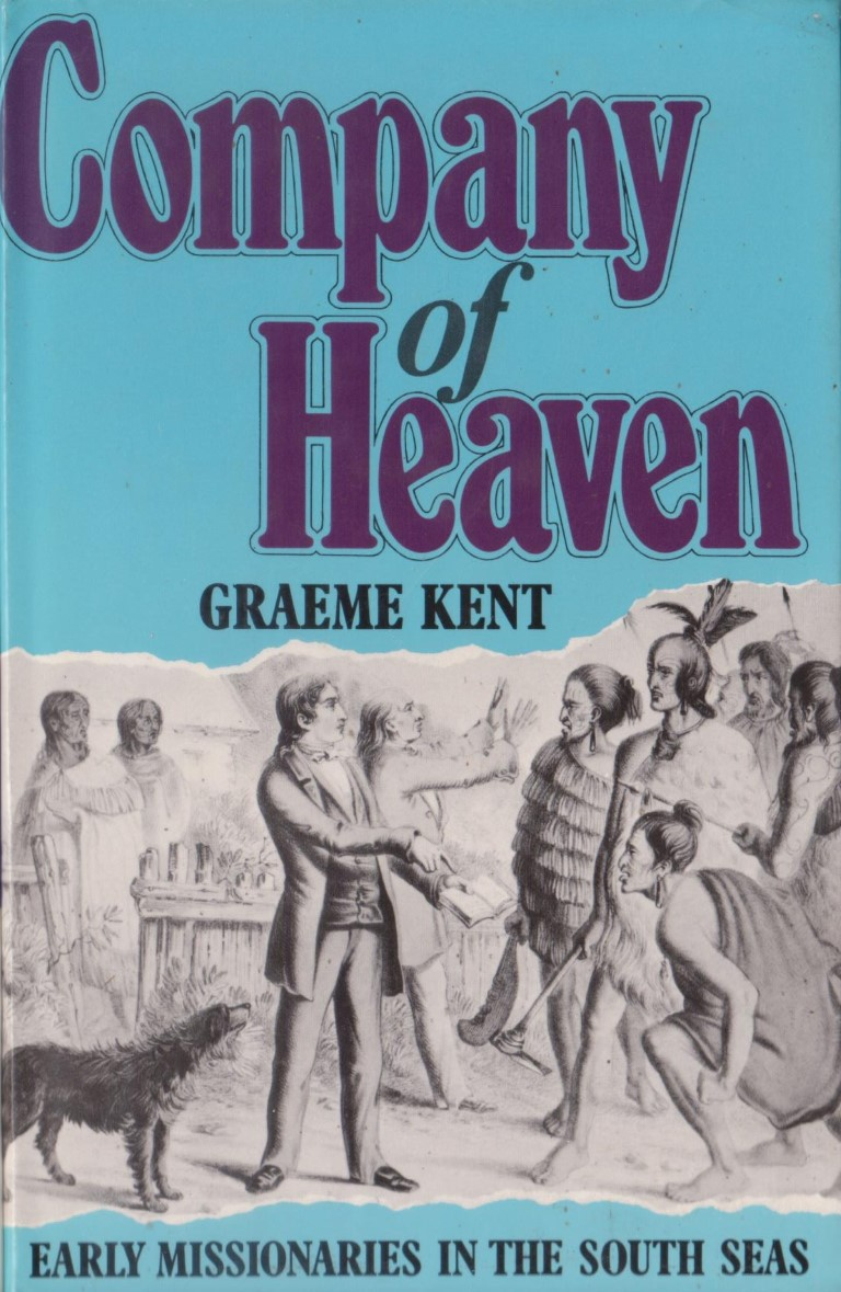 cover image of Company of Heaven, Early missionaries in the South Seas, for sale in New Zealand