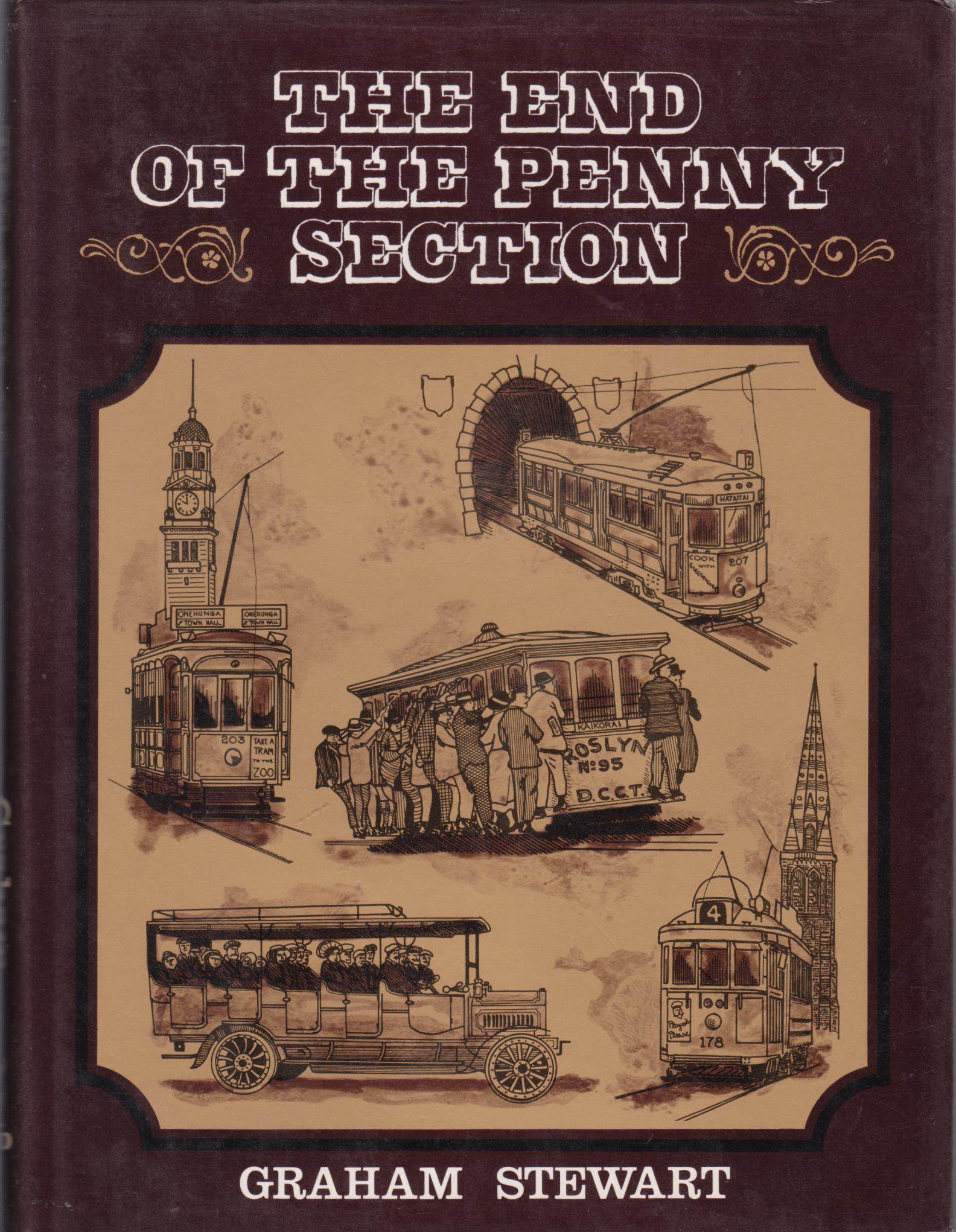 cover image of The End Of The Penny Section,  A history of Urban Transport in New Zealand for sale in New Zealand