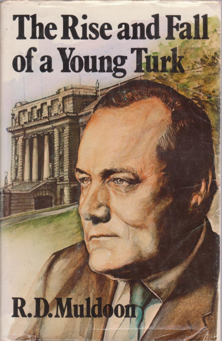 cover image of The Rise and Fall of a Young Turk for sale in New Zealand