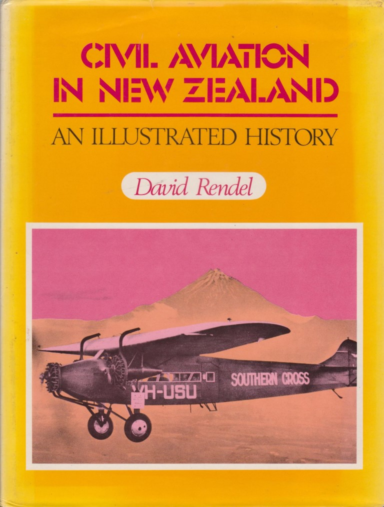 cover image of Civil Aviation in New Zealand an Illustrated History for sale in New Zealand