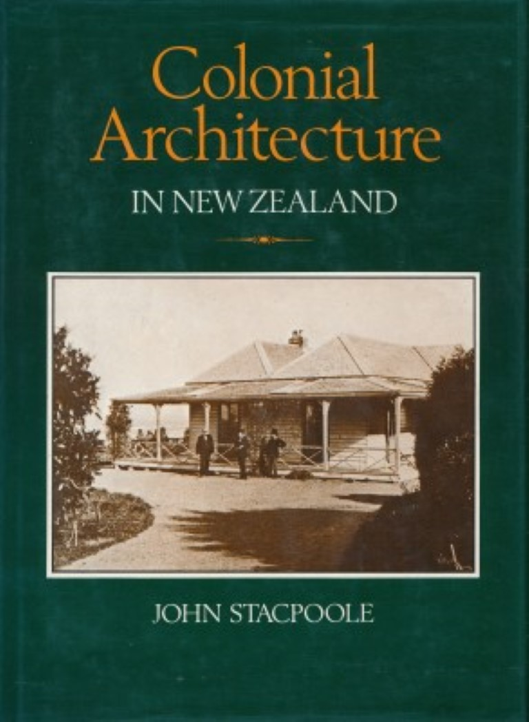 cover image of Colonial Architecture In New Zealand for sale in New Zealand