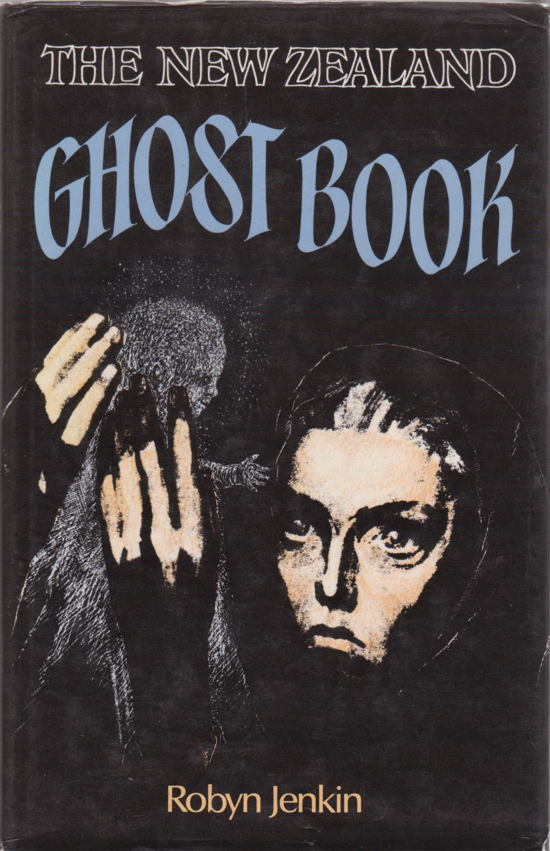 cover image of The New Zealand Ghost Book for sale in New Zealand