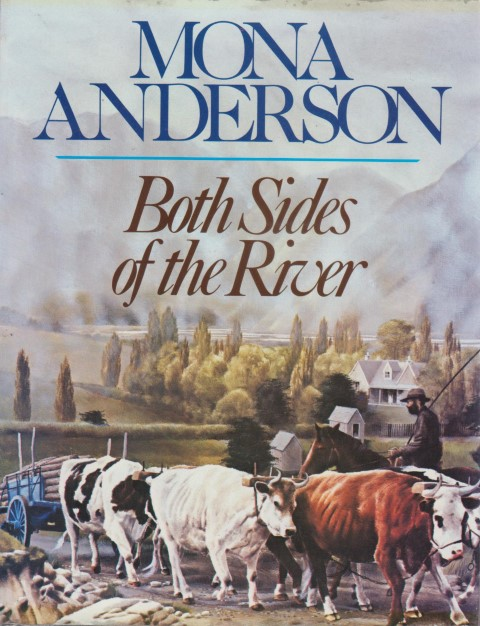 cover image of Both sides of the river by Mona Anderson