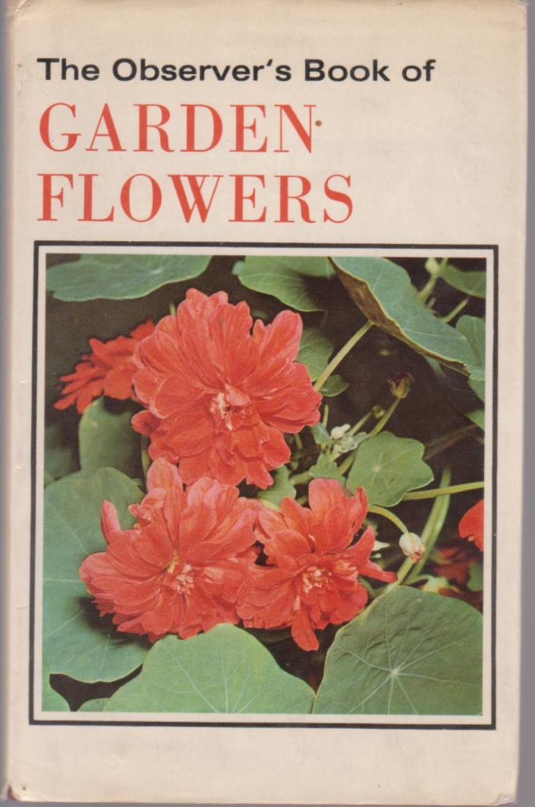cover image of The Observer's Book of Garden Flowers, for sale in New Zealand