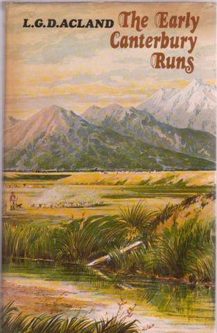 The Early Canterbury Runs, fourth edition, for sale in New Zealand