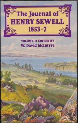cover image of The Journal of Henry Sewell 1853-7 volume 2
