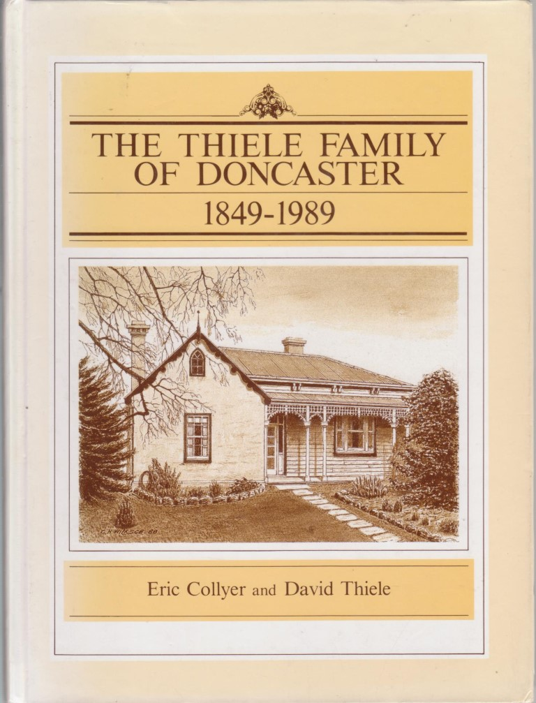 cover image of The Thiele Family of Doncaster, for sale in New Zealand