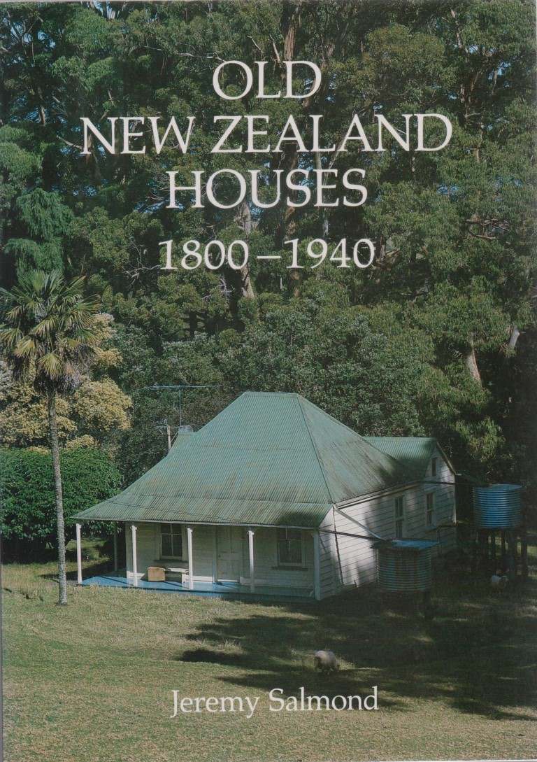 cover image of Old New Zealand Houses by Jeremy Salmond for sale in New Zealand