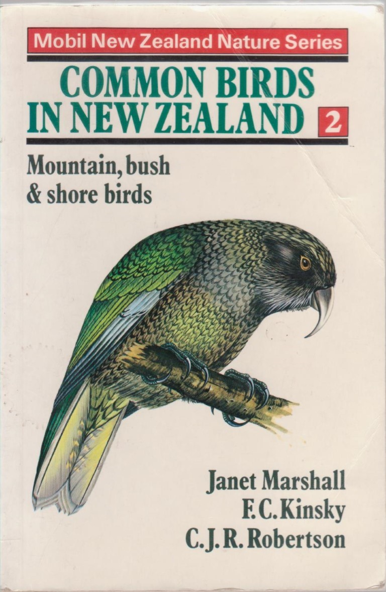 cover image of Common Birds in New Zealand 2, Mountain, Bush and Shore Birds for sale in New Zealand