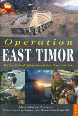 cover image of Operation East Timor, The New Zealand Defence Force in East Timor 1999-2001