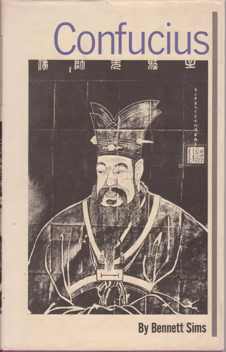 cover image of Confucius by Bennett Sims for sale in New Zealand
