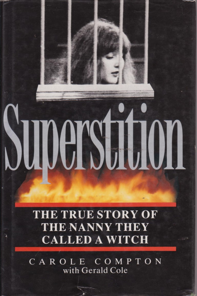 cover image of Superstition, The True Story of the nanny they called a Witch, for sale in New Zealand