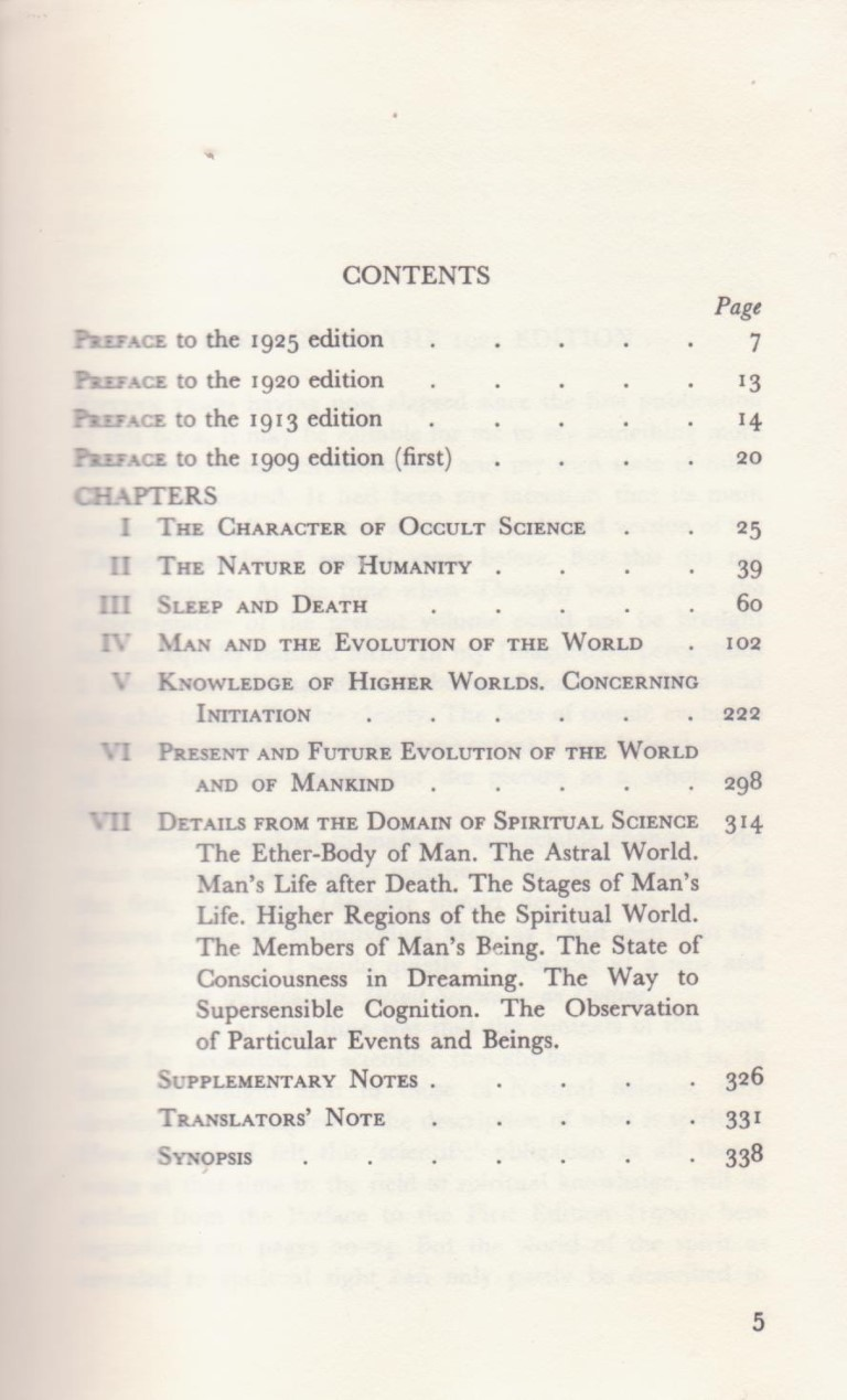 cover image of Occult Science, an outline by Rudolf Steiner for sale in New Zealand