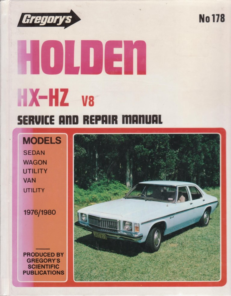 cover image of HOLDEN HX-HZ V8 for sale in New Zealand