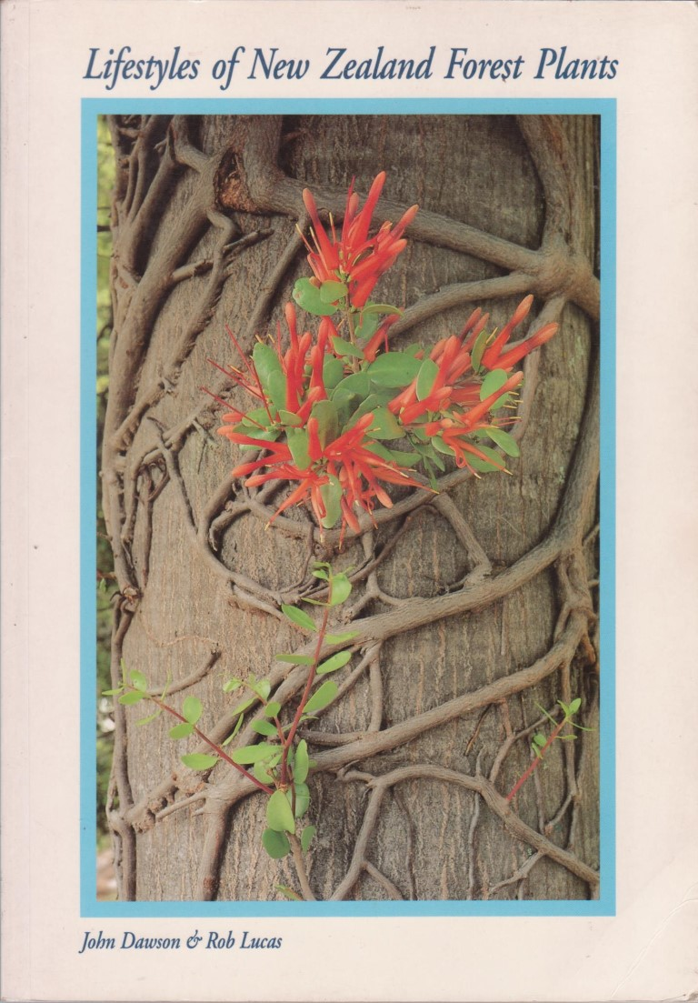 cover image of Lifestyles of New Zealand Forest Plants for sale in New Zealand