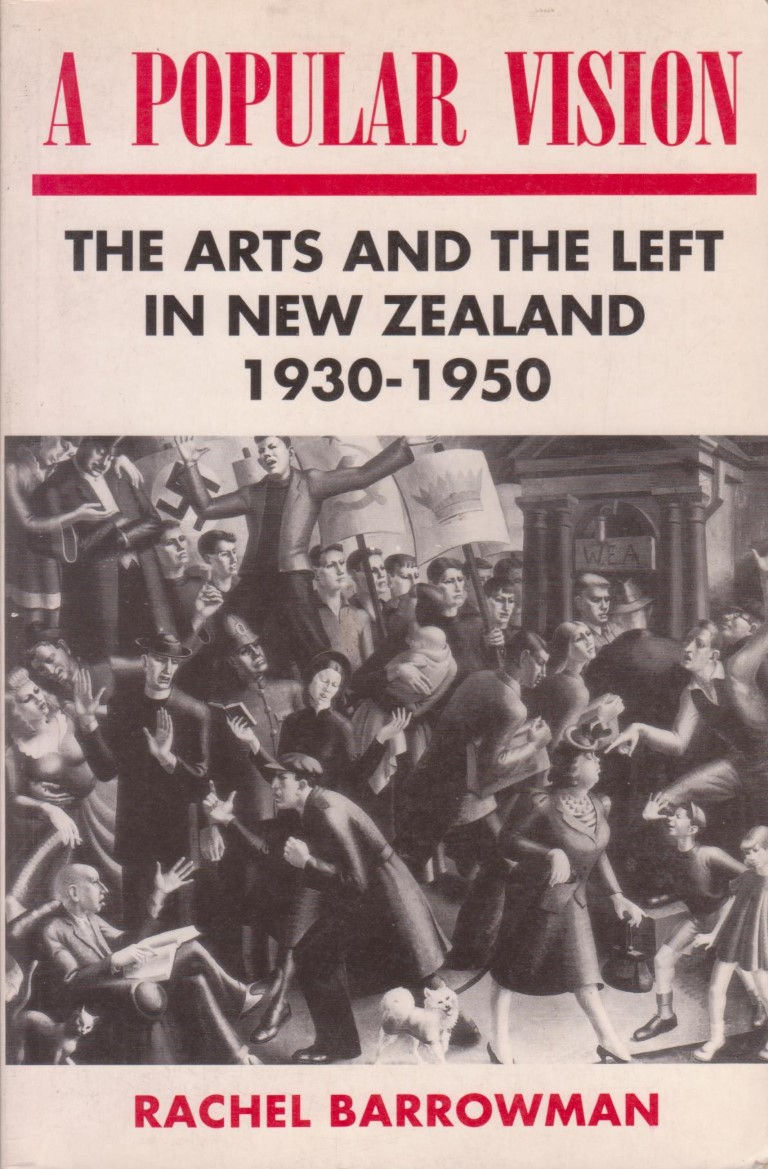 cover image of A popular vision: The arts and the left in New Zealand 1930-1950 for sale in New Zealand