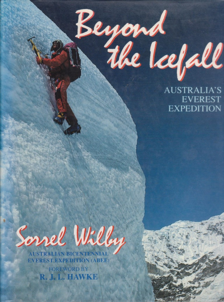 cover image of Beyond The Icefalll; Australia's Everest Expedition, for sale in New Zealand