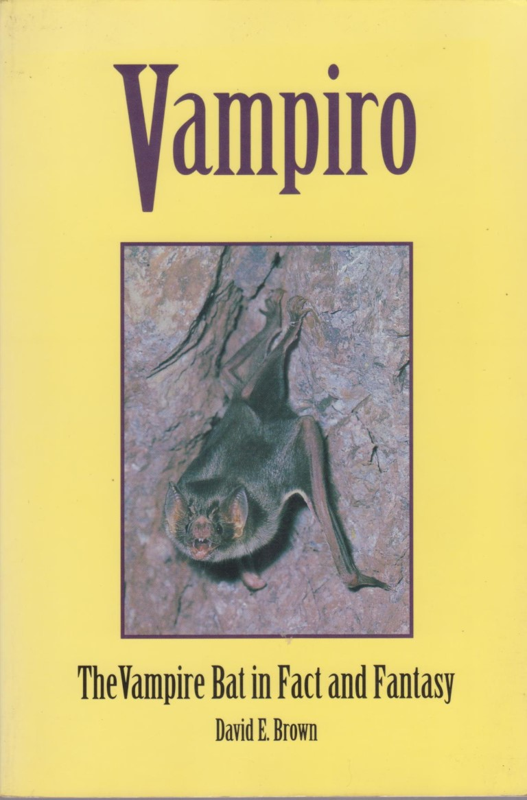 cover image of Vampiro; The Vampire Bat in fact and fantasy, for sale in New Zealand