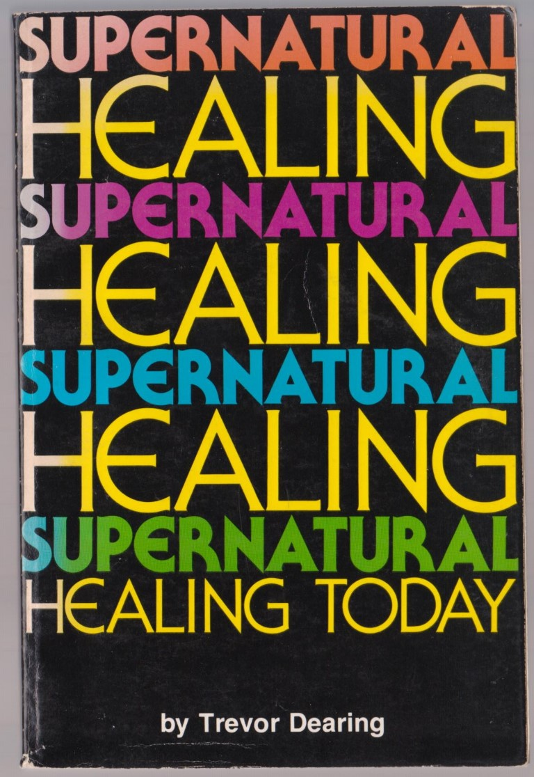 cover image of Supernatural Healing Today, for sale in New Zealand