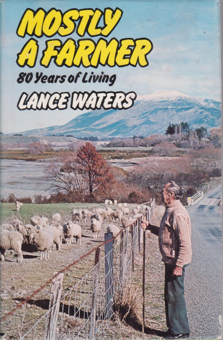 cover image of Mostly a Farmer, 80 Years of Living in Marlborough, for sale in New Zealand