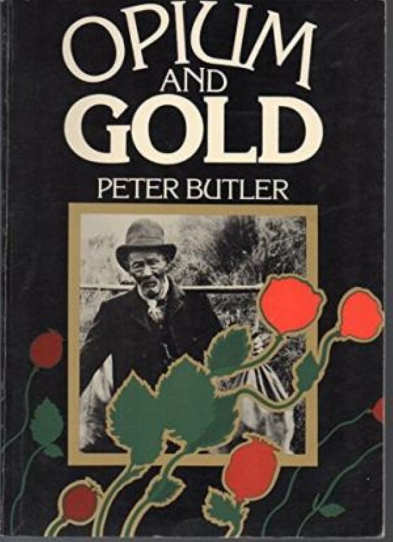 cover image of Opium and Gold by Peter Butler for sale in New Zealand