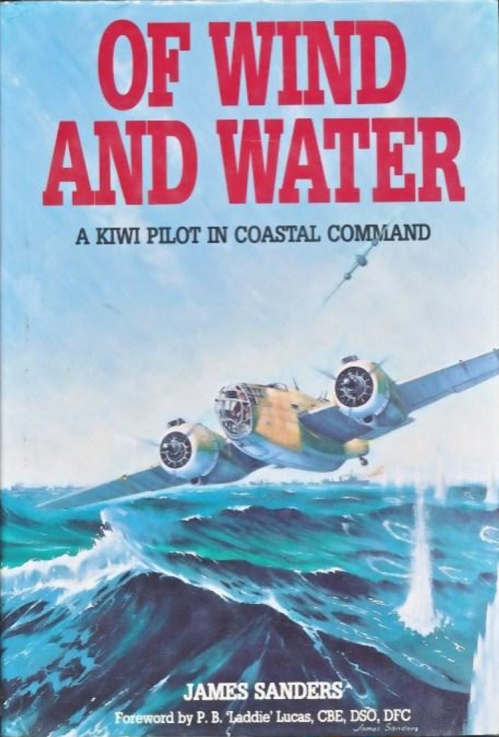 cover image of Of Wind and Water, A Kiwi pilot in Coastal Command for sale in New Zealand