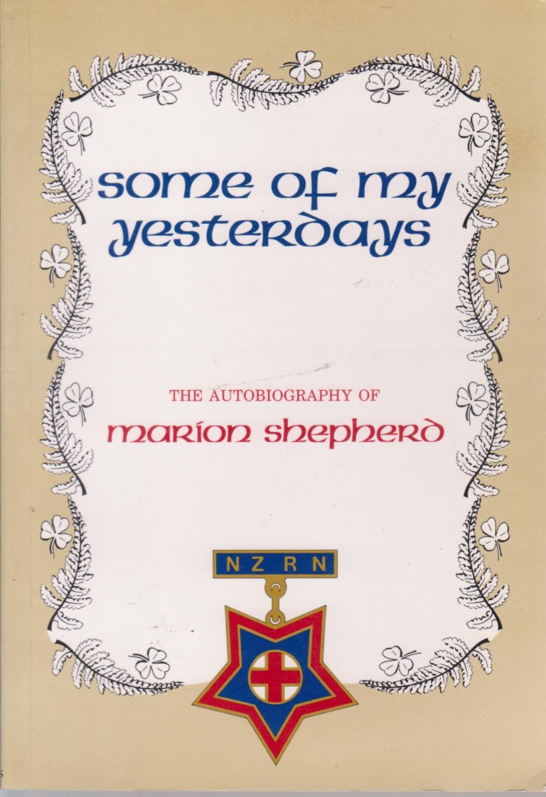 cover image of Some of my Yesterdays: The Autobiography of Marion Shepherd NZRN for sale in New Zealand