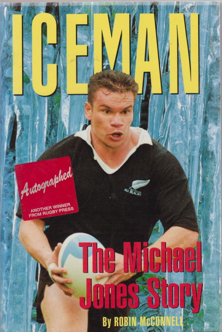 cover image of Iceman, the Michael Jones Story for sale in New Zealand