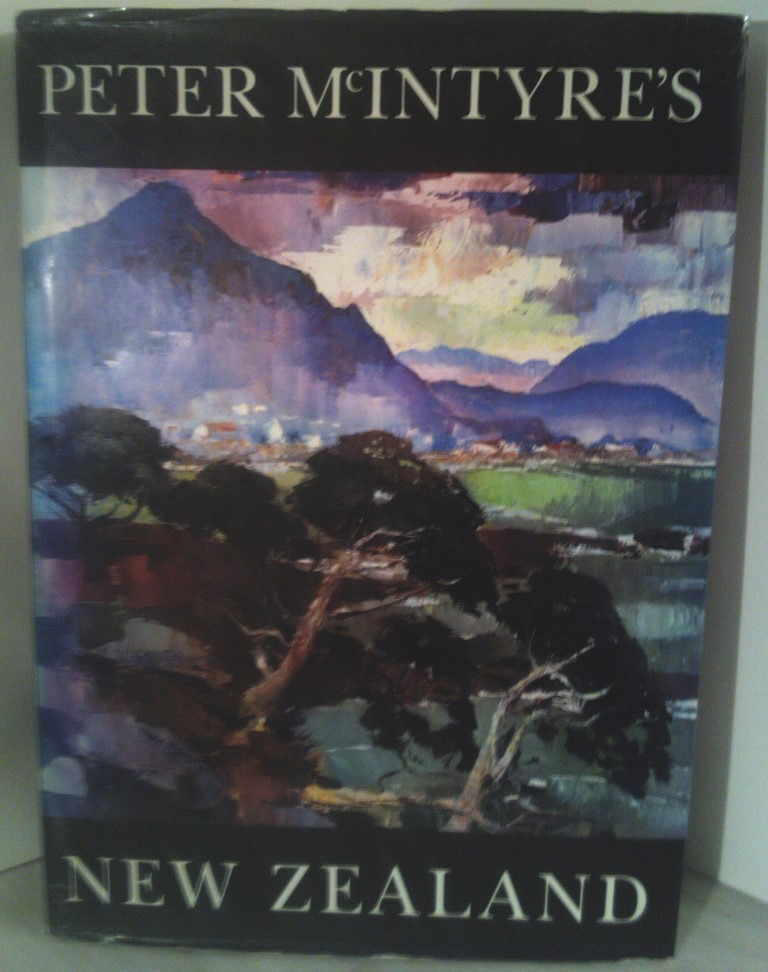cover image of Peter McIntyre's New Zealand, New Edition for sale in New Zealand