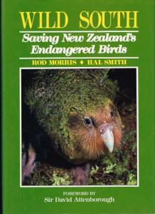 cover image of Wild South, Saving New Zealand's Endangered Birds