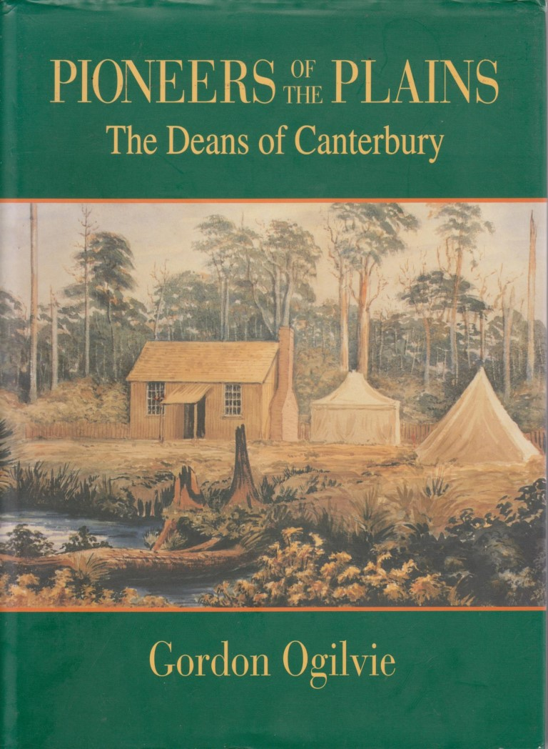 cover image of Pioneers of the Plains, The Deans of Canterbury, for sale in New Zealand