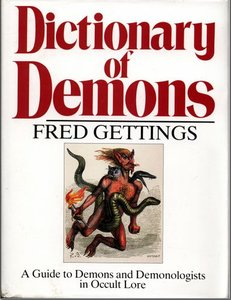 GETTINGS Fred, Dictionary of Demons, for sale in New Zealand