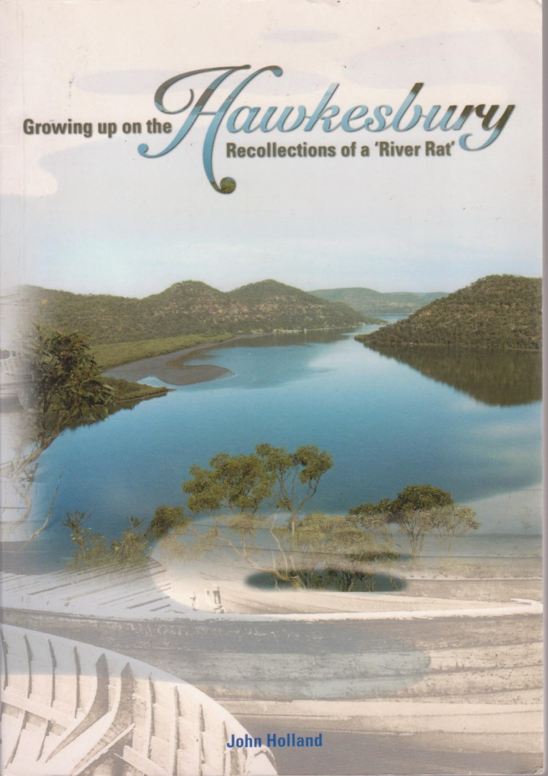 cover image of Growing up on the Hawkesbury; Recollections of a 'River Rat', for sale in New Zealand