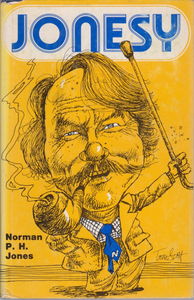 cover image of Jonesy by Norm Jones, for sale in New Zealand