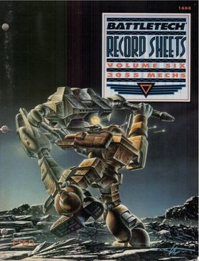 cover image of BattleTech Record Sheets Volume Six 6= 3055 mechs, for sale in New Zealand