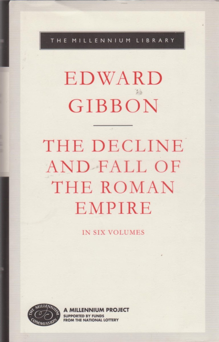 cover image of Gibbon's The Decline and Fall of the Roman Empire for sale in New Zealand