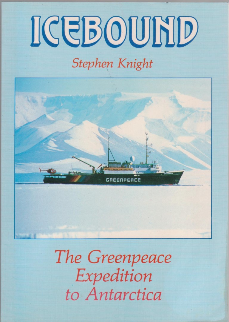 cover image of Icebound; the Greenpeace expedition to Antarctica
