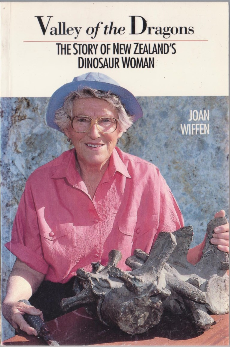 cover image of Valley of The Dragons the Story of New Zealand's Dinosaur Woman for sale in New Zealand