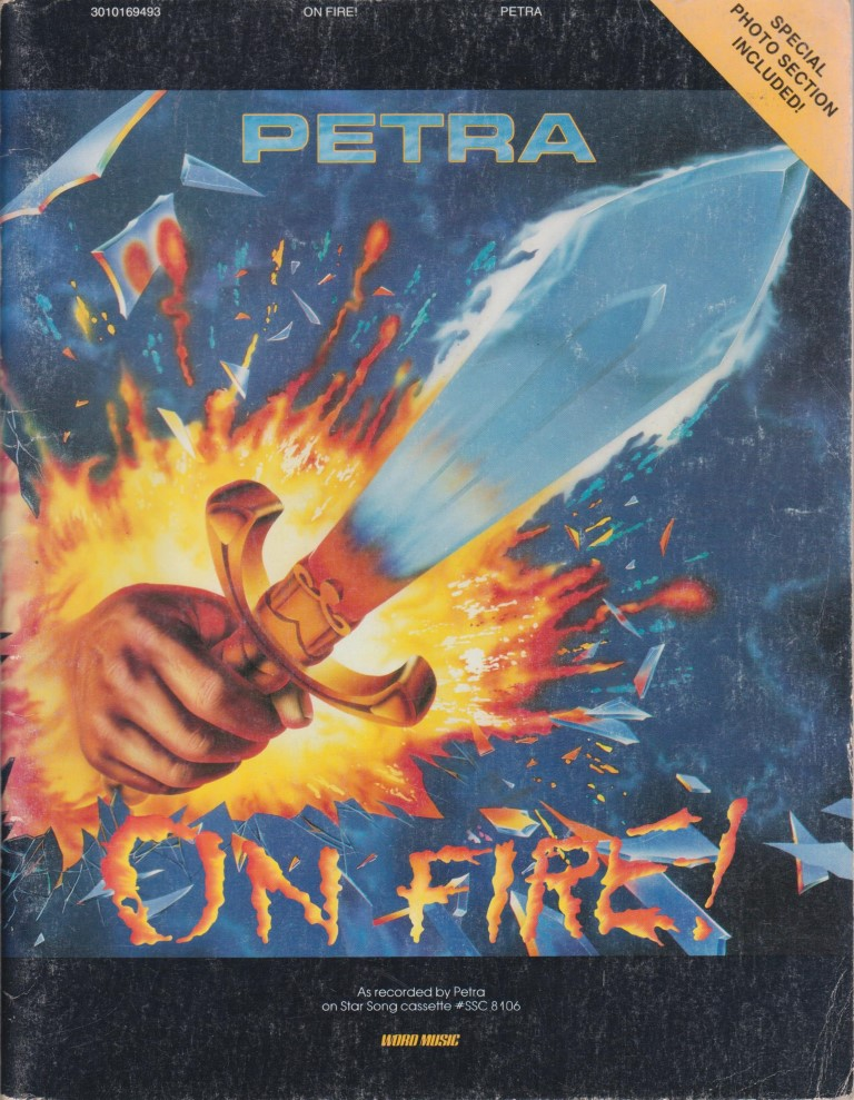 cover image of Petra On Fire SHEET MUSIC, for sale in New Zealand