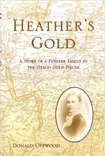 cover image of Heather's Gold A Story of a pioneer family in the Otago gold fields, for sale in New Zealand