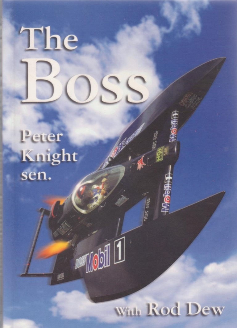 cover image of The Boss, Sir Peter Knight for sale in New Zealand