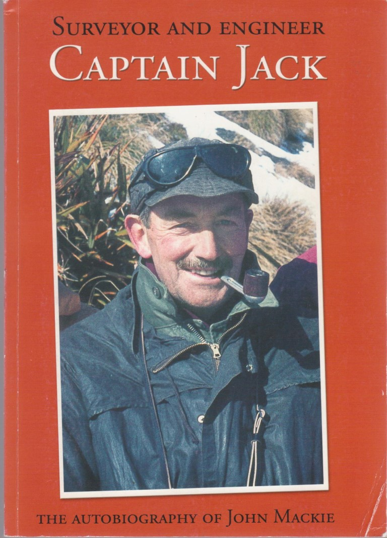 cover image of Captain Jack, Surveyor and Engineer for sale in New Zealand