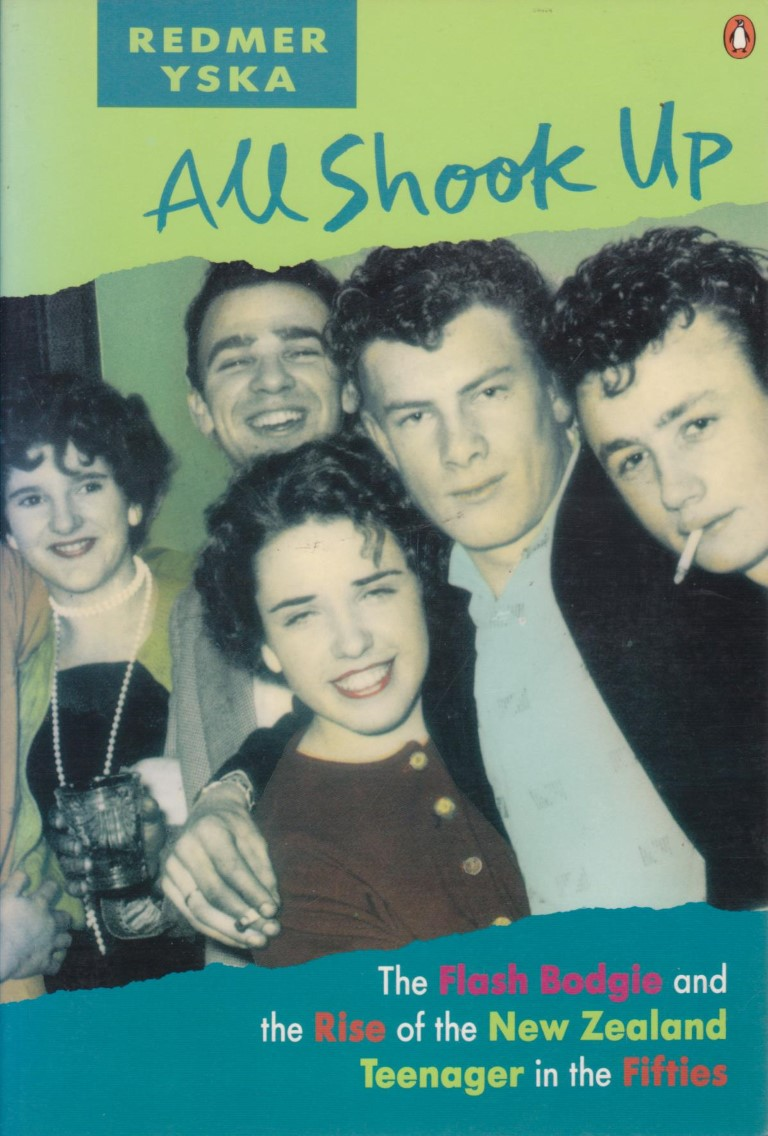 cover image of All Shook Up: The Flash Bodgie and the Rise of the New Zealand Teenager in the Fifties for sale in New Zealand