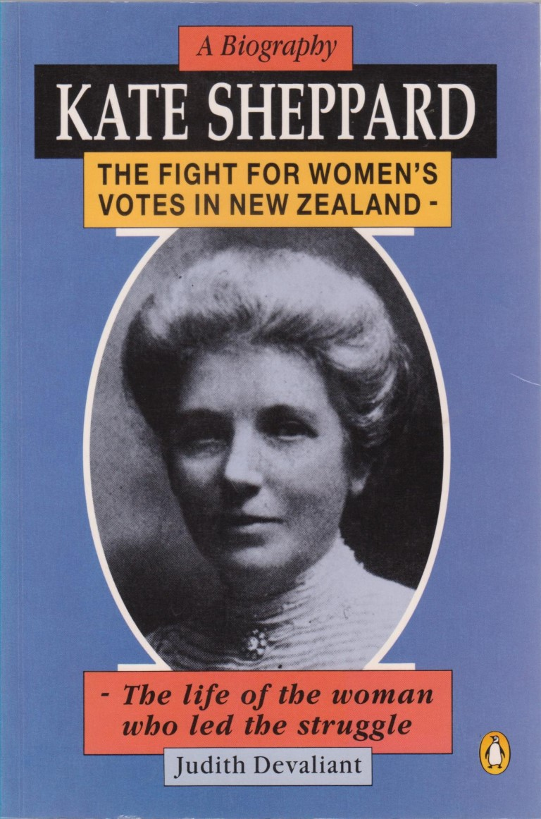 cover image of Kate Sheppard: A Biography for sale in New Zealand